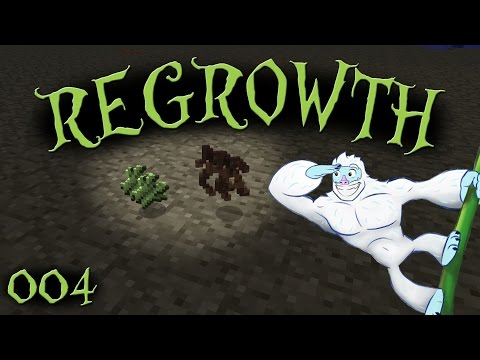 Getting Mandrake Root & Sugar Cane - Regrowth Let's Play - Episode 004 - Modded Minecraft 1.7.10
