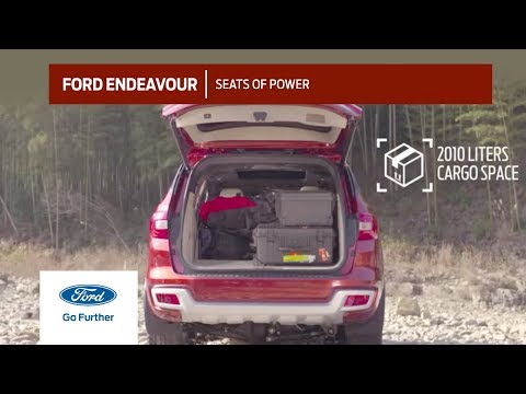 All-New Ford Endeavour: Seats of Power