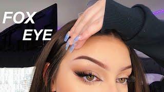 Easy + Quick FOX EYE Makeup