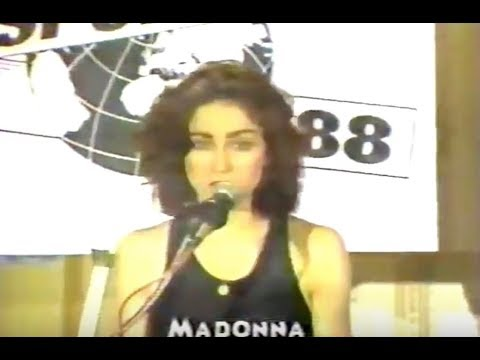 Madonna Press Conference for Sport Aid '88