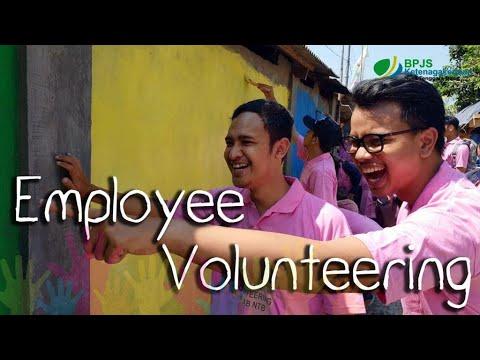 Kerja Bakti Dusun Dasan Daya - Employee Volunteering BPJS Ketenagakerjaan Kantor Cabang NTB 2018