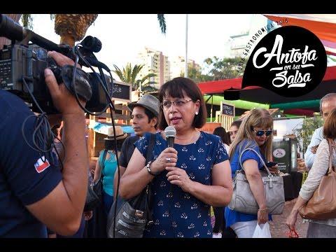 Registro de la 1ra Feria Gastronómica Antofa en su Salsa 2016