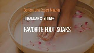 Favorite Foot Soaks