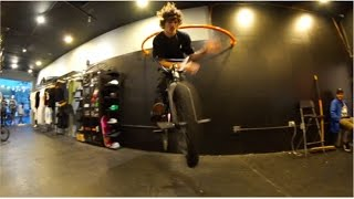 HOW TO 180 BARSPIN ON FLAT! WITH CONNOR KEATING!