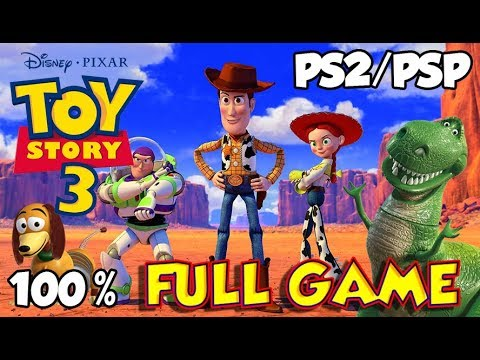Disney's Toy Story 3 Walkthrough 100% FULL GAME Longplay (PS2, PSP)