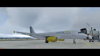 PREPAR3D 4.1 Vueling VLG6770 LEBL-LIRP with A320X by FSLabs on IVAO.