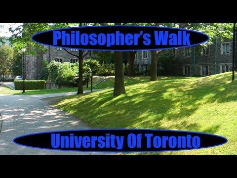 Philosopher's Walk - University Of Toronto