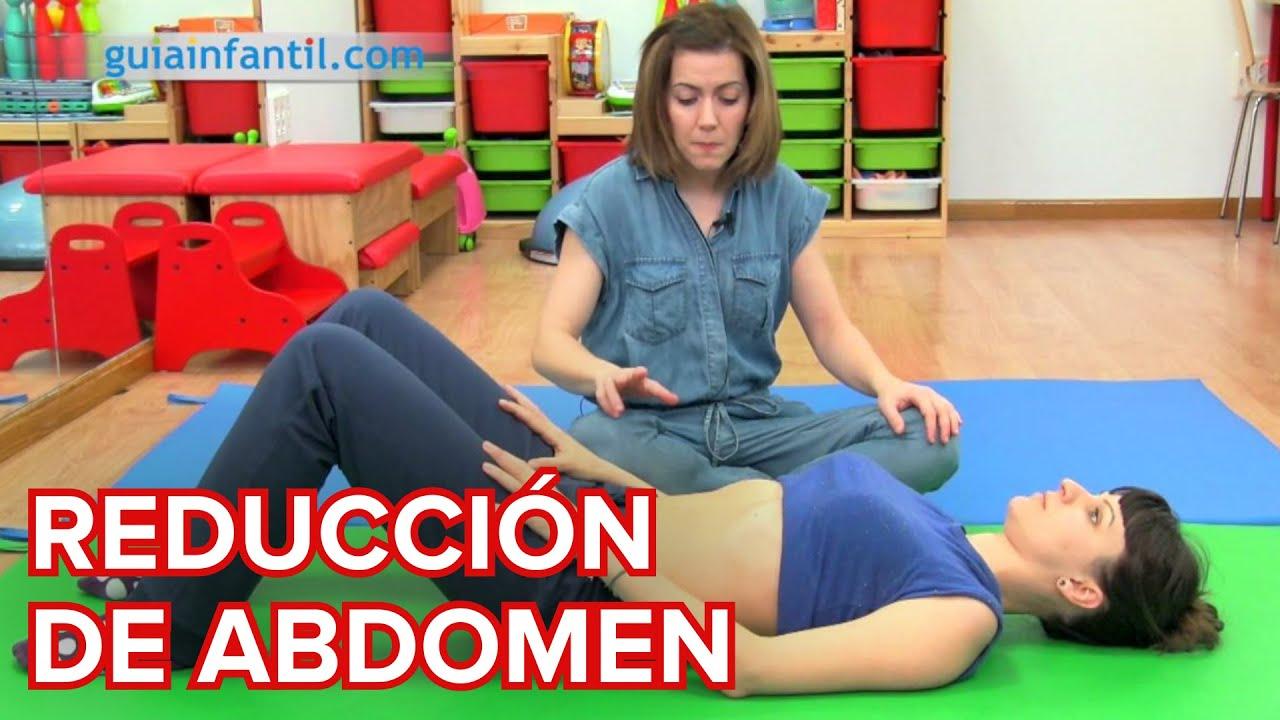 Ejercicio hipopresivo para perder tripa tras el parto