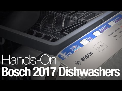 Everything you need to know about Bosch's new 2017 dishwashers