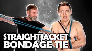 Straight jacket tie (Anglais)