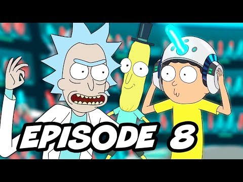 Rick and Morty Season 3 Episode 8 - Easter Eggs and References