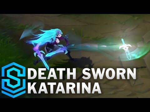 Death Sworn Katarina Skin Spotlight - League of Legends