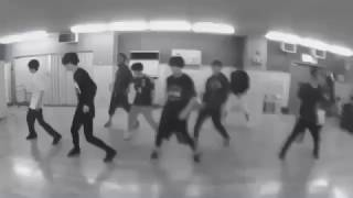 """Hey! Say! JUMP practicing """"Over The Top"""" Dance Routine"""