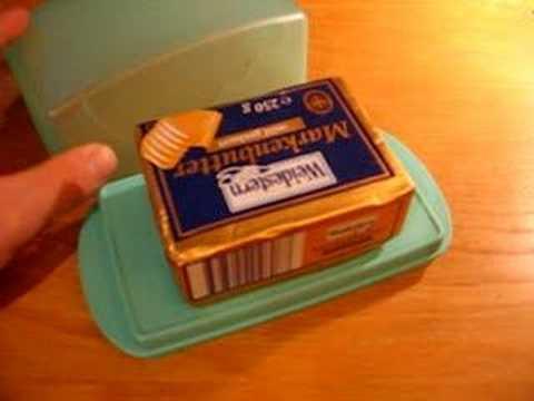 Butterdose Tupperware Junge Welle Serie