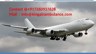 Get Quick Air Ambulance Service in Allahabad and Varanasi by King