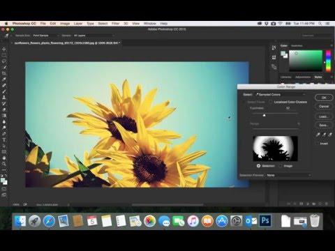 27- PhotoShop CC|  color range