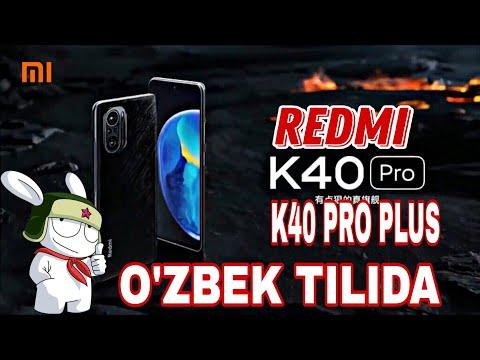 REDMI K40 PRO/REDMI K40 PRO PLUS - O'ZBEK TILIDA /SNAPDRAGON 888 CHIPLI ENG ARZON SMARTFONLAR !!!