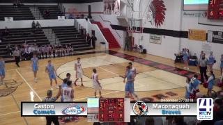 Maconaquah Boys Basketball vs Caston