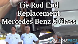 Tie Rod End Replacement Mercedes Benz