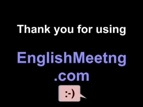 EnglishMeeting - Grammar - quick tip