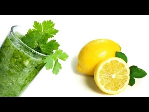 Петрушка и лимон на страже вашего здоровья
