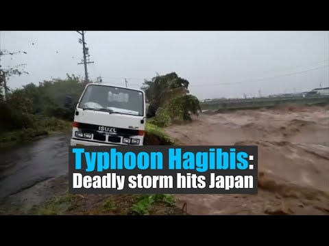Typhoon Hagibis   At least 11 dead as storm hits Japan, rescue operations underway