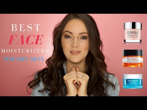 BEST MOISTURIZERS FOR DRY SKIN | Michelle Hyatt