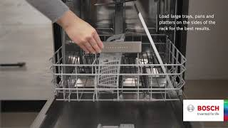 How to Load a Dishwasher/Dishwasher Loading Tips by Bosch Home Appliances