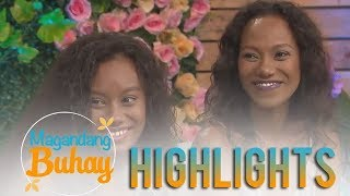 Magandang Buhay: Wilma Doesnt and her daughter Asiana's resemblance