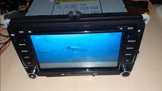 Yingly 7 Zoll 2 Din DVD Autoradio USB Navigation Bluetooth GPS Micro SD Park Kamera Lenkrad Remote