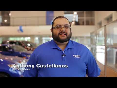 Service Advisor Anthony Castellanos