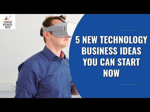 5 New Technology Business Ideas You Can Start Now | Startup Business Ideas