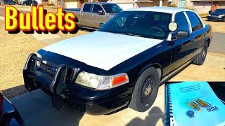 Copart $1250 2009 Ford P71 Crown Vic Police Car - Finishing for Paint!