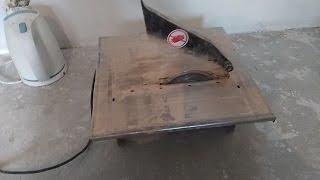 Как запилить плитку под 45 качественно с помощью дешёвых плиткорезов!!!