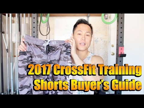 2017 CrossFit Training Shorts Buyers Guide