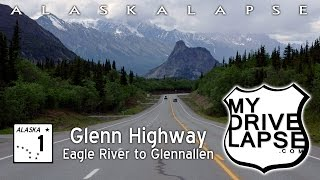 Scenic Drive on Glenn Highway: Anchorage to Glennallen