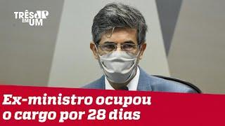 Teich depõe na CPI da Covid e fala sobre riscos da cloroquina