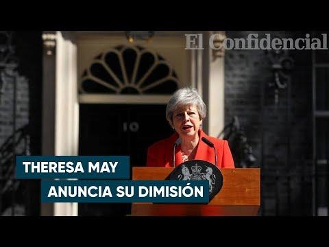 """Theresa May no pudo contener las lágrimas: """"He servido al país que amo"""""""