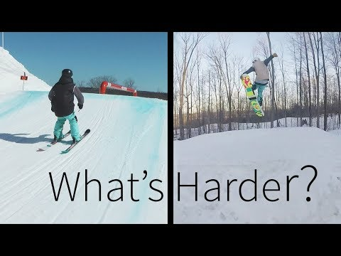Whats Harder: Skiing or Snowboarding?