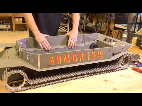 "ARMORTEK ELEFANT: 1/6 Scale METAL TANK BUILD - ""Tanks For 10 Years"" Project - PT 3 