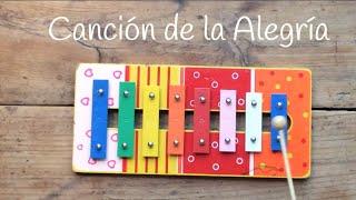 Himno de la Alegría, canciones con xilófono