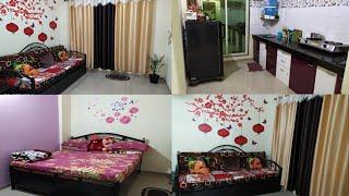 My Home Tour || My Simple 1BHK  Home Tour In Mumbai || Indian Home Tour || My Sweet Home Tour
