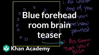 Brain Teaser: Blue Forehead Room