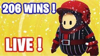 🔴 HELLO ! GO TOP 1 SUR FALL GUYS !  ✌ I 206 WINS 🏆 / LVL MAX ✅ (En direct)