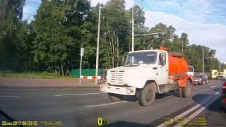 Волоколамское шоссе, 6 30 утра  Авария в сторону Центра