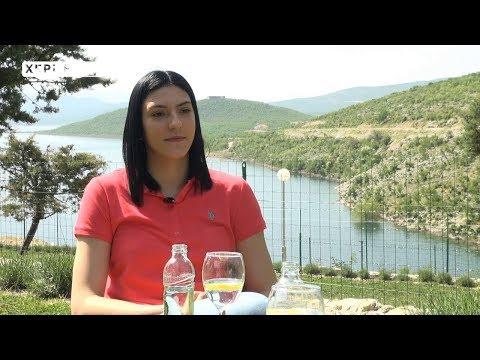 Tijana Bošković za Herceg TV: Svaki slobodan trenutak koristim da dođem u rodnu Bileću  (VIDEO)