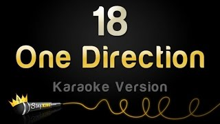 One Direction   18 (Karaoke Version)