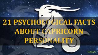 PSYCHOLOGICAL FACTS ABOUT CAPRICORN PERSONALITY