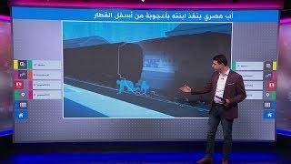 أب مصري شجاع يحمي ابنته بجسده من الدهس تحت عجلات القطار، وغرامة 50 جنيها له!