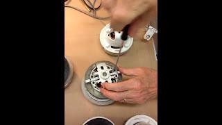 DIY Repair of your Nilfisk Vacuum Motor to prevent early failures. P/N 140 8689 510